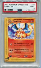 Pokemon Card FPO (For Position Only) Charizard Expedition 39/165, PSA 9 Mint