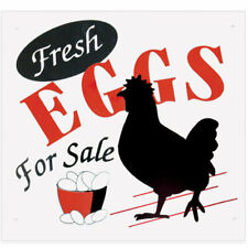 Gate Signs Fresh Eggs For Sale outdoor polystyrene