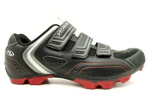 Specialized Black Red Leather Adjustable Athletic Cycling Shoes Men's 41 / 8