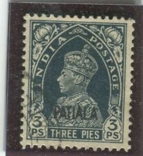 India - Convention States - Patiala Stamps Scott  #98 Used,VF (X6512N)