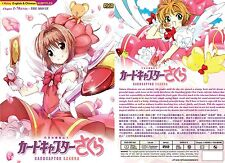 ANIME DVD~Cardcaptor Sakura(1-70End)English subtitle&All region FREE SHIPPING