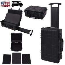 Protective Equipment Case Hard Carry Case Lenses Storage Box Black Multi Sizes