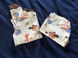 Boy's Carter's Pajama Set Football Size 5T