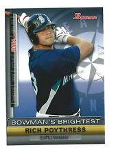 2011 Bowman Bowman's Brightest #BBR5 Rich Poythress Mariners