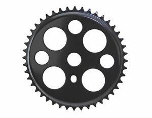 ORIGINAL Lowrider Steel Chainring 412 1/2 X 1/8 44t Black/White Bikes BMX