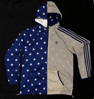 Veste Capuche Adidas Originals Stars WB Rare Reversible Hooded Jacket X30764 / M