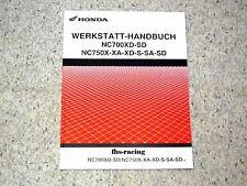 HONDA NC 750 X /XA / XD / SA / SD ab 2014  Werkstatthandbuch - Zusatz-Handbuch !
