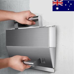 Stainless Steel Wall Plaster Tool Concrete Trowel Dust Powder Putty Scraper AU