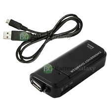 Portable Charger+USB Cable for Samsung Galaxy S 3 4 S3 S4 Mini Active Note 1 2