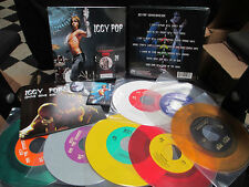 "IGGY POP & THE STOOGES Gimme Some Skin: The 7"" Collection Color Vinyl Box Punk"