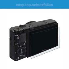 Canon Legria GX10 - (3 Stück) antireflex Displayschutzfolie - Anti-Shock Schutz
