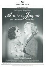 AIMÉE & JAGUAR: 1 Werberatschlag  (Erotik, Sex, Lesben) 6 Seiten