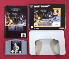 Star Wars: Shadows of the Empire - N64 - Nintendo 64 - USADO - BUEN ESTADO