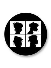 "Pin Button Badge �˜25mm 1"" Logo Gorillaz Groupe Bands Rock Trip Hop UK"