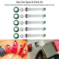 5 Set Gas Can Fuel Spout Cap Replacement Industrial Spout Parts Practial 2021