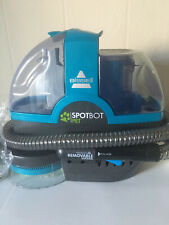 Bissell Spotbot Hands Free Portable Carpet Upholstery Pet Cleaner BLUE