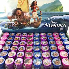 30x Disney Moana Self Ink Stamps Birthday Party Favors Bag Filler
