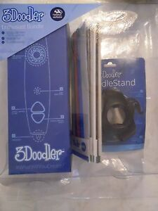 3DOODLER First Addition, Enthusiast Bundle, w/ ABS PLASTIC STICKS & Doodle Stand
