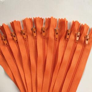 45cm (18 inch)  ordinary nylon coil closed 5-10pcs sewing zipper 3# 20 colors