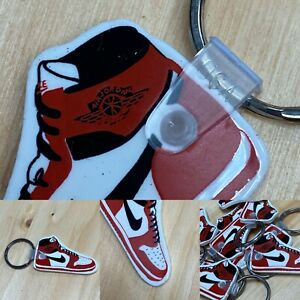 Vintage Rare Nike 1985 Air Jordan 1 Keychain Chicago Bred Deadstock USA stamped