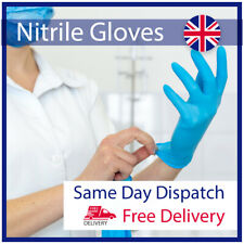 Powder-Free Nitrile Disposable Medical Gloves Box of 100 1.5AQL EN455 EN374