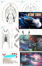 Aztec Decals Star Trek Enterprise 1701 E 1/1400 scale Nemesis version