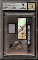 2008 Bowman Sterling Jesus Montero Rookie RC Jersey BGS 9 Autograph 10 Auto 12
