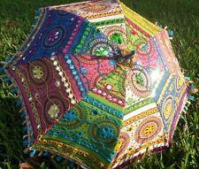 Shade. Organic Vintage Parasols Boho Sun Beach Fun Decorative Love Color Gifts