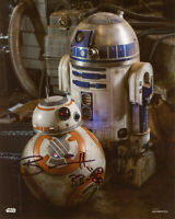 BRIAN HERRING SIGNED AUTOGRAPHED 8x10 PHOTO BB-8 PUPPETEER STAR WARS BECKETT BAS