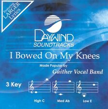 Gaither Vocal Band - I Bowed On my Knees -  Accompaniment CD NEW