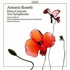 Antonio Rosetti-piano concerto Natasa Veljkovic Johannes moesus Pforzheim OVP