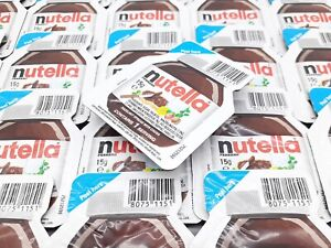 Nutella Spread Chocolate Hazelnut Cocoa 15g Individual Portions Mini Packs UK