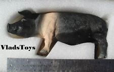 """Domestic Black Pig 1/6 Scale Resin Accessory for 12"""" figures ZY Toys  ZY-PGB USA"""