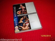 ROCKY 1,II,III,IV MOVIE MAKERS DVD SET (4 FEATURE FILMS) 4 DVD SET (SCRATCHED)