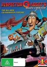 INSPECTOR GADGET  THE CASE OF THE GIANT FLYING LIZARD  -  NEW REGION 4 DVD