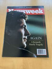 John F Kennedy Jr Newsweek Magazine July 26, 1999 Special A Family Tragedy
