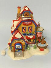 Dept 56 North Pole - Reindeer Spa 56794 Features Display Anywhere Lighting -Note