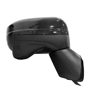 Black Passenger Side Door Mirror With Side view Camera 128-64825R