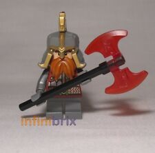 Lego Dain Ironfoot from Set 79017 Battle of Five Armies Hobbit Dwarf NEW lor107
