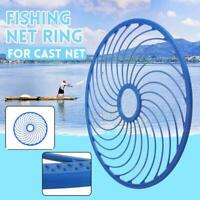 Net Fishing Hand Throwing Net Special Aluminum Ring AuxiliaryRe Catch Z8P0 A6K1