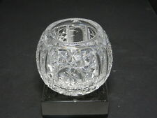 """Pairpoint Blackmer Nevada Oxford ABP Rose Globe Clear Crystal 2 3/4"""" T"""