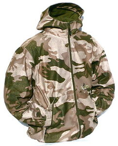Cabela's Outfitter Camo Dry-Plus 100% Waterproof Windproof Silent Hunting Jacket