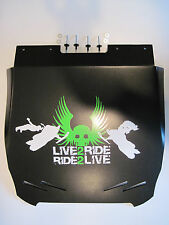 Arctic Cat Pro Climb M800 Snow Flap, M-800 Live 2 Ride Snowflap 2012_ GREEN