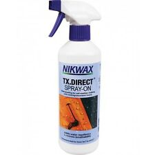 Nikwax TX Direct SPRAY on IMPERMEABILIZZANTE 500 ML strato impermeabilizzante tempo umido Clothing
