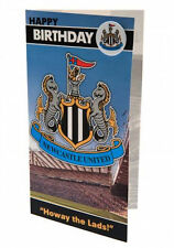 OFFICIAL Newcastle United Birthday Card with badge