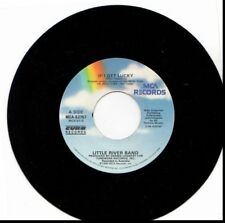 LITTLE RIVER BAND IF I GET LUCKY/PIECE OF MY HEART 45RPM VINYL
