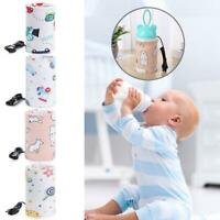 USB Baby Bottle Warmer Portable Milk Cup Heater Infants Feeding Bottle Heated