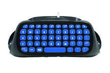Snakebyte Key:Pad™ blau für PS4 Kabellose Tastatur für Texteingabe