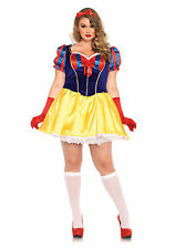 Leg Avenue Plus Size Queen Fairy Tale Snow White Halloween Costume Sale