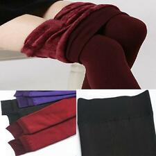 Trendy Stretchy Winter Pants New Thick Leggings Women's Fluffy Lined Warm